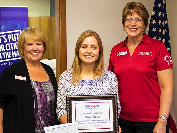 2017 Ambassador Scholarship Awarded to Sarah Bartz